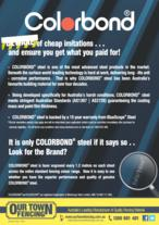 COLORBOND - Look for the Brand