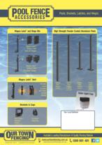 Pool Fencing Accessories
