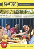 Slattice - COLORBOND Fence Extensions