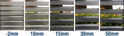 Loov-A-Slat Sizes: -2mm, 10mm, 15mm, 30mm, 50mm